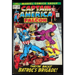 Captain America (1968) #149 VF+ (8.5) vs Batroc