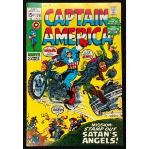 Captain America (1968) #128 FN/VF (7.0)