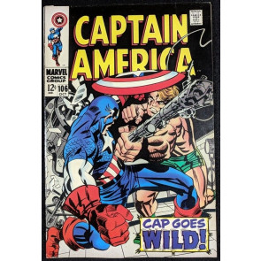 Captain America (1968) #106 VF- (7.5)