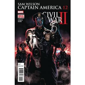 Captain America Sam Wilson (2015) #12 VF/NM Civil War II Tie-in