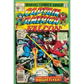 Captain America (1968) & Falcon #213 VF/NM (9.0) Jack Kirby cover, art & script