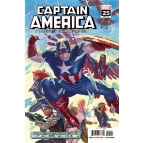 Captain America (2018) #25 (#729) VF/NM Alex Ross Cover Red Skull Agent-13