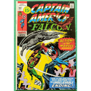 Captain America (1968) & Falcon #142 FN+ (6.5)