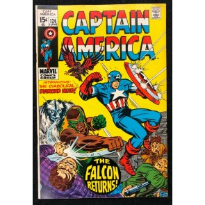 Captain America (1968) #126 VF- (7.5) Falcon cover