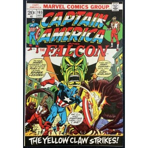 Captain America (1968) #165 VF/NM (9.0) Vs Yellow Claw