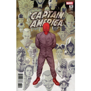 Captain America (2017) #704 VF/NM Julian Totino Tedesco Variant Cover