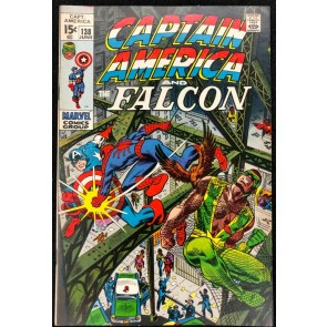 Captain America (1968) #138 VF- (7.5) co-starring Falcon vs Spider-Man