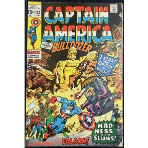 Captain America (1968) #133 FN- (5.5) Origin of Modok