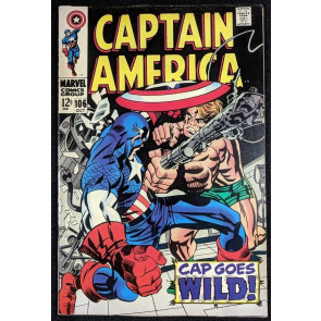Captain America (1968) #106 VF (8.0)