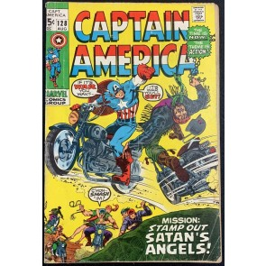 Captain America (1968) #128 GD/VG (3.0)
