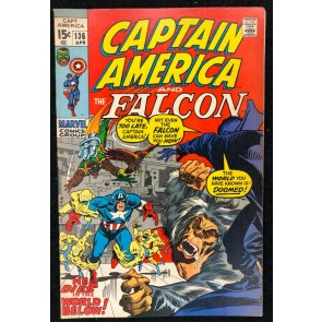 Captain America (1968) #136 VF- (7.5) co-starring Falcon