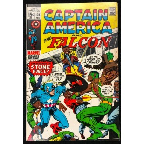 Captain America (1968) #134 FN/VF (7.0) with Falcon