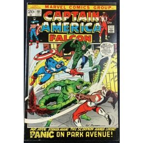 Captain America (1968) #151 FN+ (6.5) Scorpion & Mr. Hyde