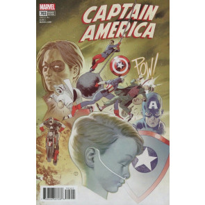 Captain America (2017) #703 VF/NM Julian Totino Tedesco Variant Cover