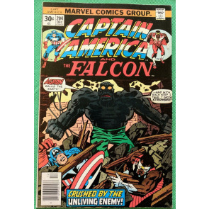 Captain America (1968) & Falcon #204 VF- (7.5) Jack Kirby cover, art & script