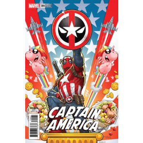 Captain America (2017) #701 Regular + Deadpool + Connecting Variant Cover Lot