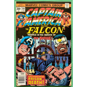 Captain America (1968) & Falcon #206 NM- (9.2) Jack Kirby cover, art & script