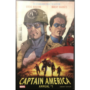 Captain America Annual (2018) #1 NM (9.4) Kaare Andrews Variant Cover