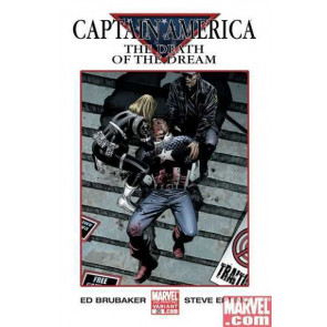 Captain America (2005) #25 2nd print VF/NM Death of Captain America Ed Brubacker