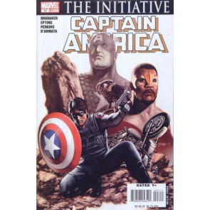 CAPTAIN AMERICA #27 THE INITIATIVE WINTER SOLDIER  COVER VF+