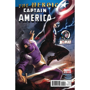 CAPTAIN AMERICA #610 NM NOMAD BACK-UP STORY