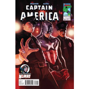 CAPTAIN AMERICA #611 VF+ - VF/NM BRUBAKER