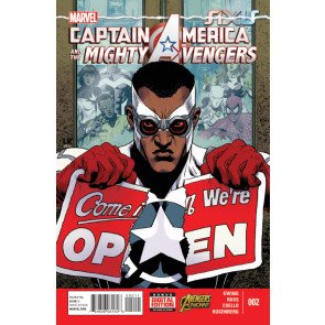 CAPTAIN AMERICA & THE MIGHTY AVENGERS (2014) #2 VF/NM MARVEL NOW!