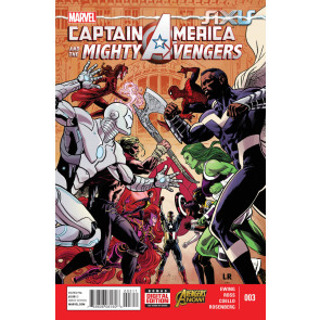 CAPTAIN AMERICA & THE MIGHTY AVENGERS (2014) #3 VF/NM MARVEL NOW!