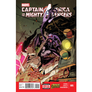 CAPTAIN AMERICA & THE MIGHTY AVENGERS (2014) #5 VF/NM MARVEL NOW!