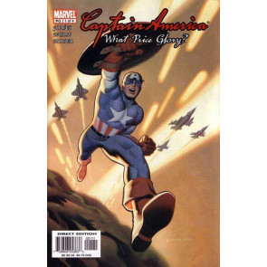 CAPTAIN AMERICA: WHAT PRICE GLORY #'s 1, 2, 3, 4 COMPLETE SET