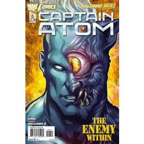 CAPTAIN ATOM (2011) #6 NM THE NEW 52!