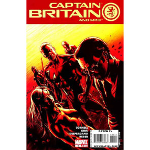 CAPTAIN BRITAIN AND MI13 #6 NM