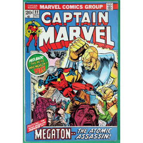 Captain Marvel (1968) #22 FN/VF (7.0)