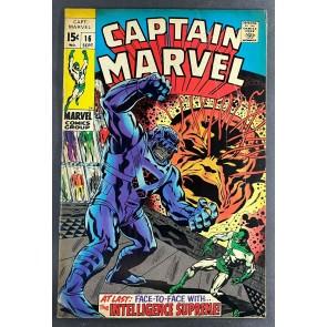 Captain Marvel (1968) #16 VG/FN (5.0)  Don Heck
