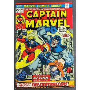 Captain Marvel (1968) #30 VF/NM (9.0) The Controller Jim Starlin Art