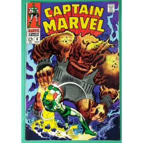 Captain Marvel (1968) #6  FN/VF (7.0)