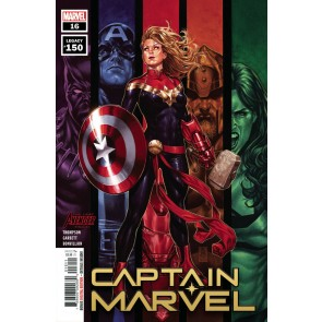 Captain Marvel (2019) #16 (Legacy#150) VF/NM (9.0) or better Mark Brooks Cover A