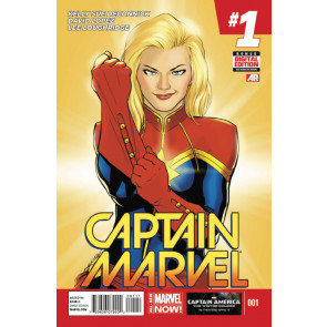 Captain Marvel (2014) #'s 1 2 3 4 5 6 7 8 10 + #1 Skottie Young Variant VF/NM-NM