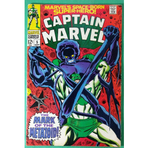 Captain Marvel (1968) #5  FN (6.0)