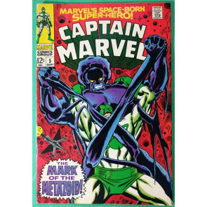 Captain Marvel (1968) #5  FN/VF (7.0)