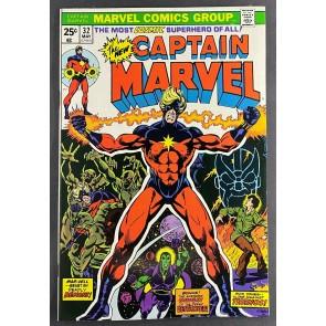 Captain Marvel (1968) #32 VF/NM (9.0) Thanos Drax Iron Man Eros Jim Starlin