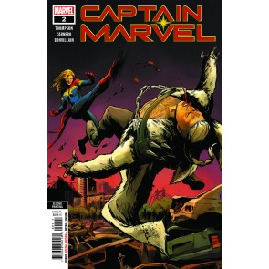 Captain Marvel (2019) #2 VF+ (#137) Second Printing Variant Cover