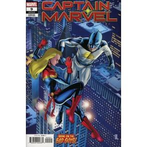 Captain Marvel (2019) #9 VF/NM JG Jones Bring On the Bad Guys! Variant Cover