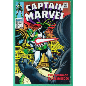 Captain Marvel (1968) #7  FN/VF (7.0)