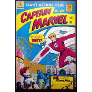 Captain Marvel (1966) #1 by Carl Burgos-Original Human Torch  M.F. Enterprises