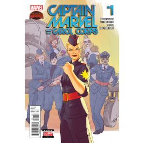 CAPTAIN MARVEL AND THE CAROL CORPS (2015) #1 VF/NM SECRET WARS