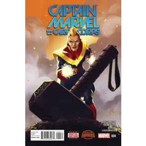 CAPTAIN MARVEL AND THE CAROL CORPS (2015) #4 VF/NM SECRET WARS