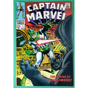 Captain Marvel (1968) #7  VF (8.0)