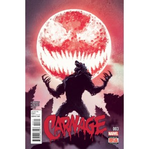 Carnage (2015) #3 VF/NM Mike Del Mundo Cover