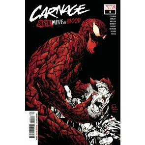 Carnage: Black, White & Blood (2021) #4 of 4 VF/NM Ryan Stegman Cover